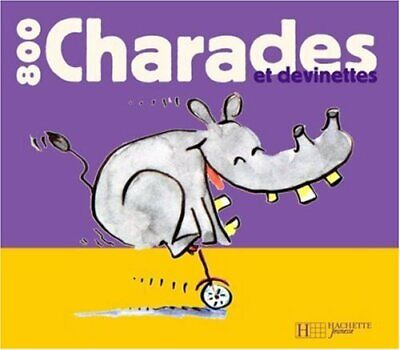 $32.50 • Buy 800 Charades Et Devinettes By Floury, Marie-France Book The Fast Free Shipping