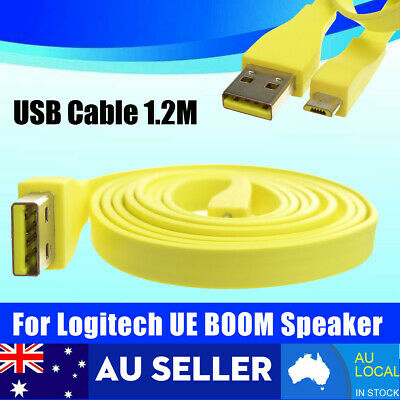 AU17.99 • Buy For Logitech UE BOOM MEGA Bluetooth Speaker PC/DC Charger Micro USB Data