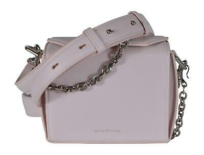 AU714.44 • Buy New Alexander Mcqueen 479767 $1,790 Pink Leather Box 16 Bag Crossbody Purse