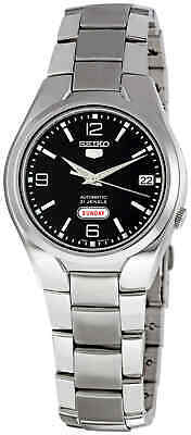 $ CDN132.99 • Buy Seiko 5 Black Dial Stainless Steel Men's Watch SNK623