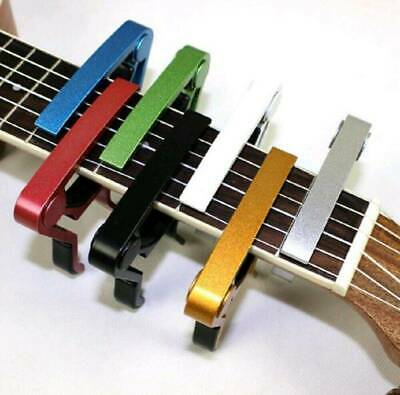 $ CDN2.95 • Buy Aluminium Guitar Capo Acoustic Clip Guitar String Instrument Clamp Electric 1Pcs
