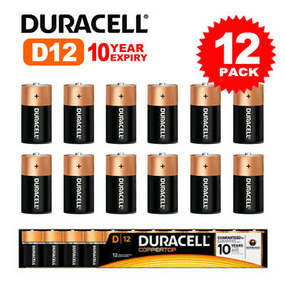AU36.95 • Buy Duracell Procell D Size Professional Alkaline Battery 12 Pack