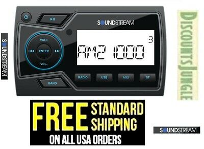 $87.95 • Buy Soundstream MHU-32 Marine Boat UTV MP3 Digital Media Player Bluetooth AUX USB