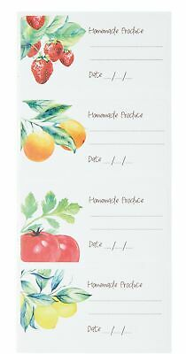 KitchenCraft Home Made Vintage-Style Self-Adhesive Jam Jar Labels - Assorted ... • 12.99£