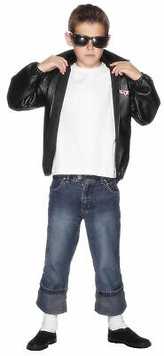 Smiffys 27491T Officially Licensed Grease T-Birds Jacket, Black, Teen Boy - A... • 35.99£