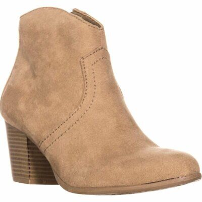 $12.76 • Buy American Rag Womens Rylie Almond Toe Ankle Fashion Boots, Sand, Size 9.5 QWbn