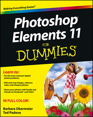 £2.80 • Buy Photoshop Elements 11 For Dummies By Barbara Obermeier (Paperback) Amazing Value