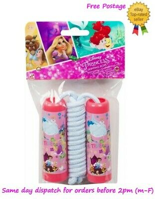£6.49 • Buy Kids Childrens Skipping Rope Jumping Rope Official Disney Princess Character