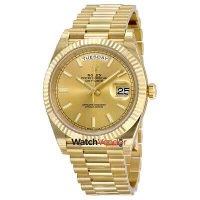 $ CDN47282.99 • Buy Rolex Day-Date 40 18K Yellow Gold President Automatic Mens Watch 228238CSP