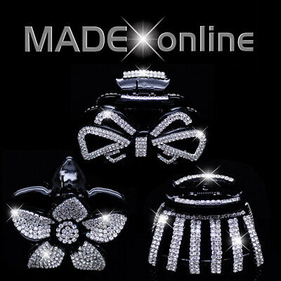 £7.99 • Buy Hair Clips, Sparkly Crystal Bling Grab, Butterfly Claw, Clamp
