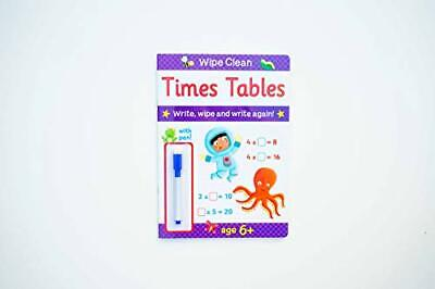 £2.49 • Buy Brown Watson Wipe Clean Times Tables - Ages 6 Plus By Brown Watson Book The