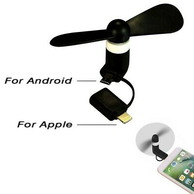 AU6.99 • Buy AU Mini USB Fan Air Cooling Portable Cooler Tool For Android IPhone Mobile Phone