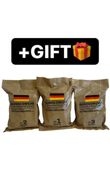 $64 • Buy New Bundeswehr Bw German Military Mre+gift, Ration, Army, Emergency, Survival