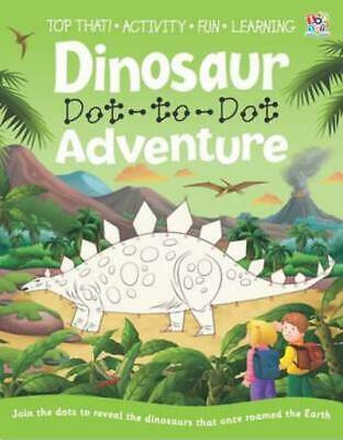 Dot To Dot Books: Dinosaur Dot-to-Dot Adventure By Nat Lambert (Paperback / • 3.07£