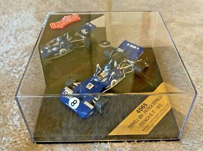 Quartzo Vitesse 4065 1:43 Scale Tyrrell 004 Depailler French Gp 1972 Mint • 14.99£