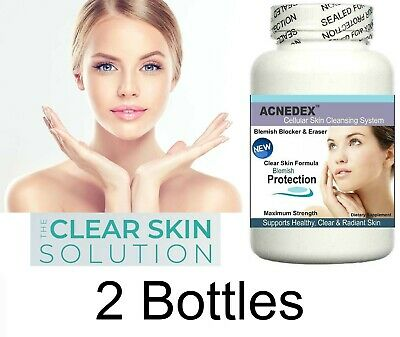 £29.95 • Buy 2x Clear Skin Support Complexion Spots Scars Treatment Cleanser Facial Detox Aid