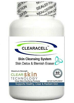 £19.95 • Buy Acne Pills Spots Scars Treatment Cleanser Detox Tablets Oxy Skin Oily Cleansing