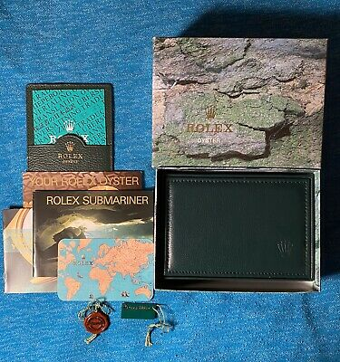 $ CDN1104.32 • Buy Rolex Box And Booklet Set For 16613 Submariner