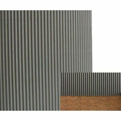 £11.99 • Buy 1/35 Scale Corrugated Iron Sheets (15 Pack)  Grey Plastic