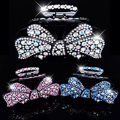 £9.99 • Buy Extra Large Bling Bow Hair Clip,  Big Sparkly Crystal Grabs