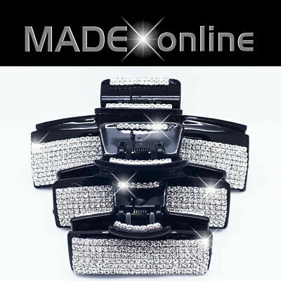 £6.99 • Buy Bling Hair Clip Set, Large, Medium And Small, Big Sparkly Grabs, Claws