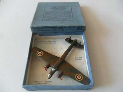 £185 • Buy Dinky Toys Aeroplane #62t Whitley Bomber Aircraft With Box, Lovely Example