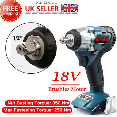 Replacement For Makita DTW285Z 18V  LXT Brushless 1/2in Impact Wrench Body Only • 49.99£