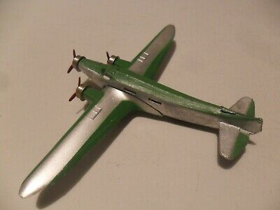 Dinky Toys France Aeroplane #61a Dewoitine D 338 Aircraft, Very Rare • 385£