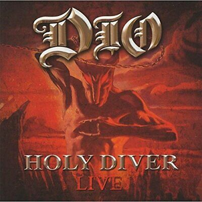 Dio - Holy Diver Live - Dio CD 2WVG The Cheap Fast Free Post The Cheap Fast Free • 21.42£