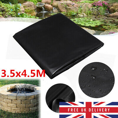 3.5x4.5M Heavy Duty PVC Garden Pool Pond Liner & Fish Pond Liner Thickness 0.1mm • 19.74£