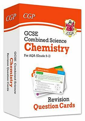 £5.49 • Buy 9-1 GCSE Combined Science: Chemistry AQA Revision Question Cards... By CGP Books