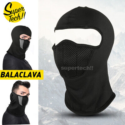 AU10.99 • Buy Ski Motorcycle Cycling Balaclava Full Face Mask Scarf Windproof Outdoor Winter