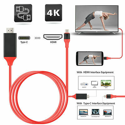 $9.55 • Buy USB-C Type C To HDMI HDTV TV Cable Adapter For Samsung Galaxy S10 Note 9 MacBook