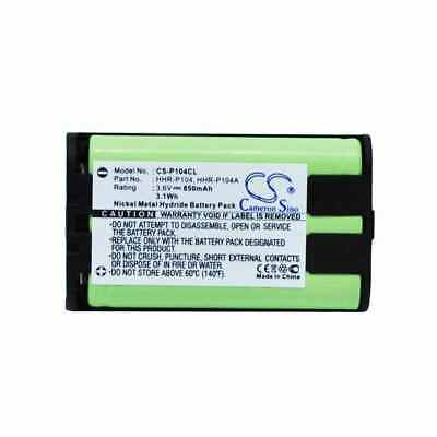 AU26.91 • Buy Battery For PANASONIC HHR-P104