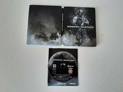 Call Of Duty Modern Warfare 2 Limited Steelbook Edition For PlayStation 3 PS3 • 8.99£