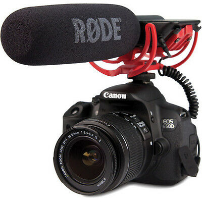 Rode VIDEOMIC Camera Mounted Shotgun Professional Microphone MIC For Canon Nikon • 89£
