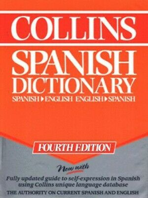 Collins Spanish-English, English-Spanish Dictionary By Diarmuid Bradley • 4.09£