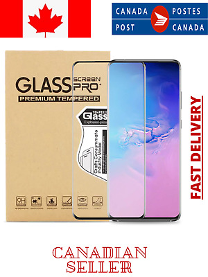$ CDN12.99 • Buy Tempered Glass Screen Protector For Samsung S8 S10 S20 + Ultra Note 10 Plus