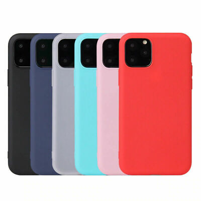 AU5.89 • Buy For Apple IPhone 13 12 11 MAX XR XS 8 SE Ultra Thin Genuine Silicone Case Cover