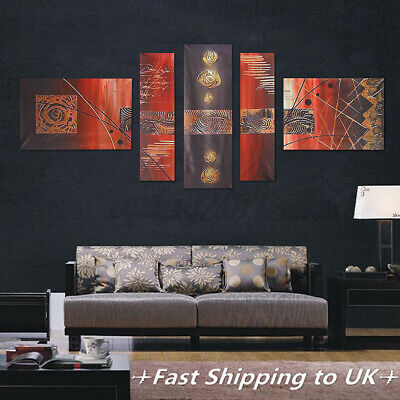 5Pcs Abstract Modern Canvas Print Art Painting Picture Home Wall Hanging GB • 8.94£