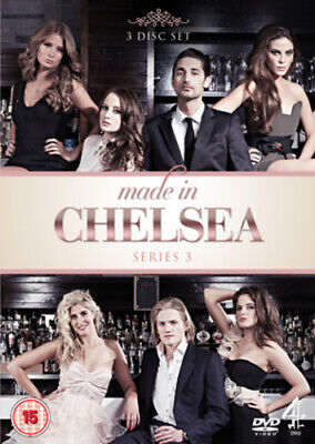 Made In Chelsea: Series 3 DVD (2012) Rosie Fortescue Cert 15 Fast And FREE P & P • 1.40£