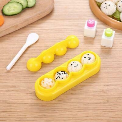 Onigiri DIY Mold Rice Ball Sushi Maker Handicraft Bento Accessories With Spoon • 6.04£