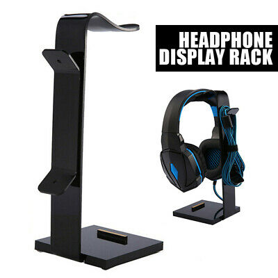 AU13.09 • Buy Universal Gaming Headphone Stand Headset Hanger Bracket Holder Rack Stand AU
