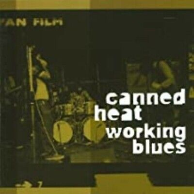 Canned Heat - Working Blues (CD, 2000) - VG • 7£