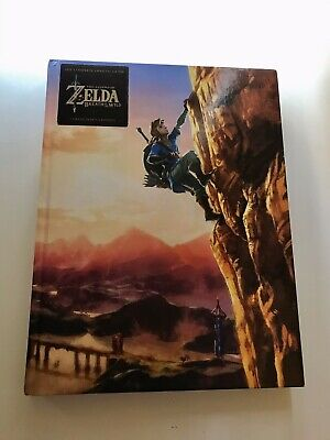 AU79.99 • Buy The Legend Of Zelda: Breath Of The Wild Complete Guide Book | Collectors Edition