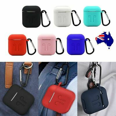 AU6.60 • Buy Strap Holder & Silicone Case Cover Skin For Apple Airpod Accessories Airpods