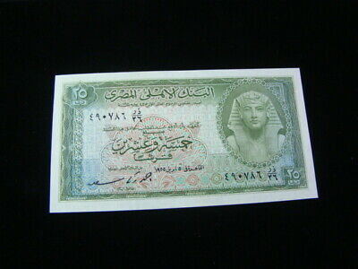 $32.50 • Buy Egypt 1952-57 25 Piastres Banknote Gem Uncirculated P#28