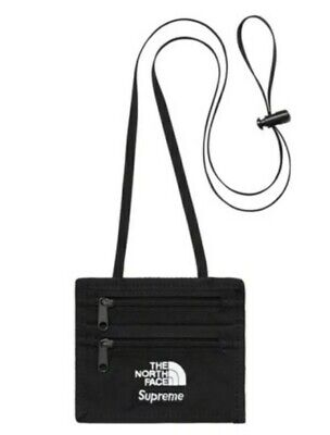 $ CDN104.58 • Buy Supreme FW18 The North Face Expedition Travel Wallet Black TNF