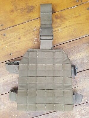 BLACKHAWK STRIKE DROP LEG PANEL - TAN - Grade 1 - Genuine - Molle Type • 14.49£