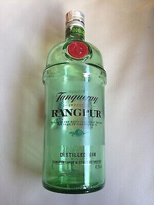 Tanqueray Rangpur Empty Gin Bottle/ Wedding Craft/ 70cl/ Decorative/ Glass • 4.95£